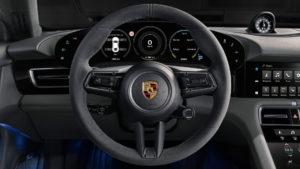 Інтер'єр Porsche Taycan - фото 4