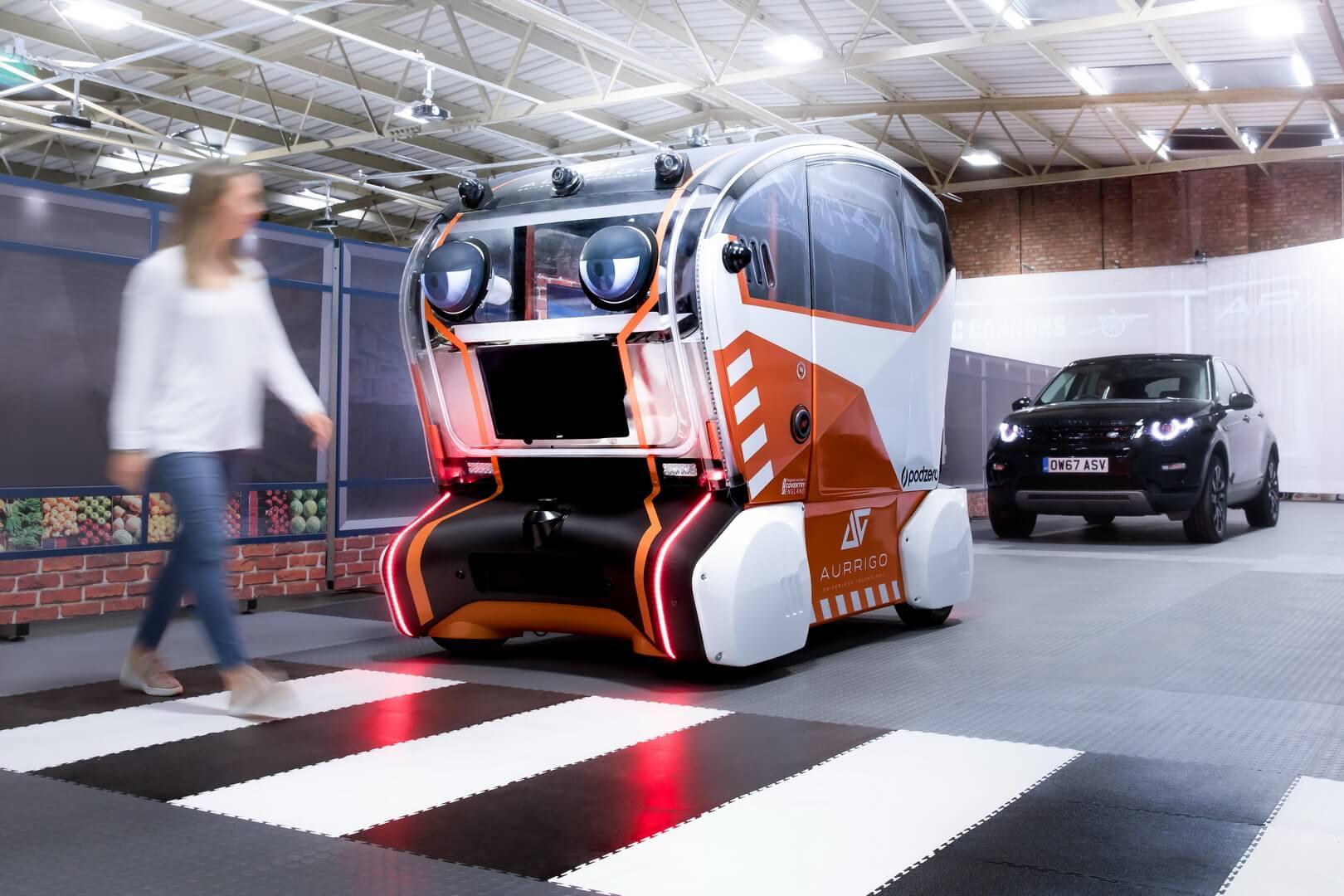 Віртуальні очі Jaguar Land Rover вивчатимуть довіру до безпілотних автомобілів