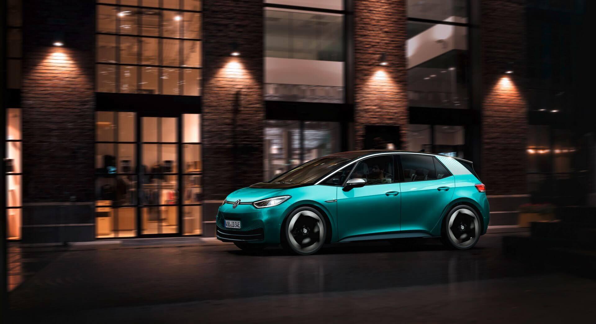 VW ID.3 дебютує як народний електромобіль з запасом ходу від 330 до 550 км
