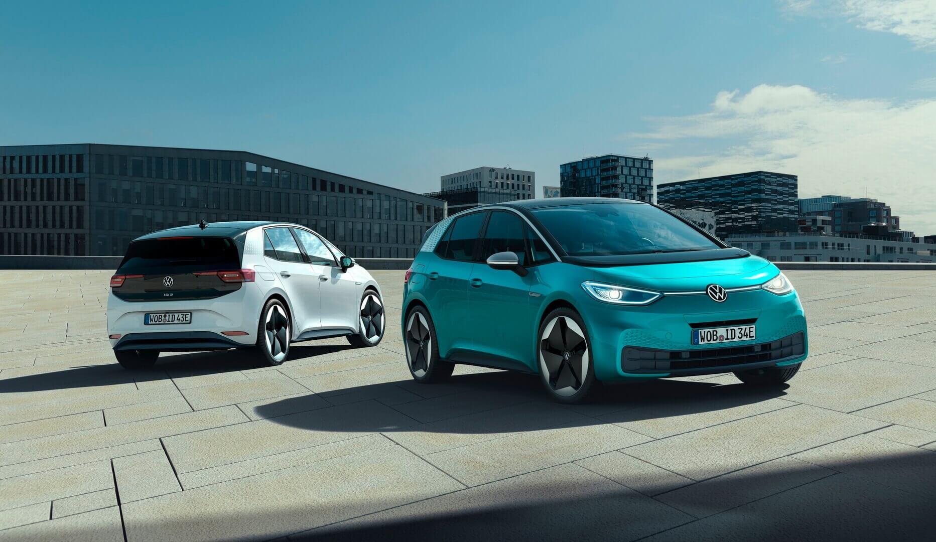 Volkswagen представляє серійну версію електромобіля ID.3