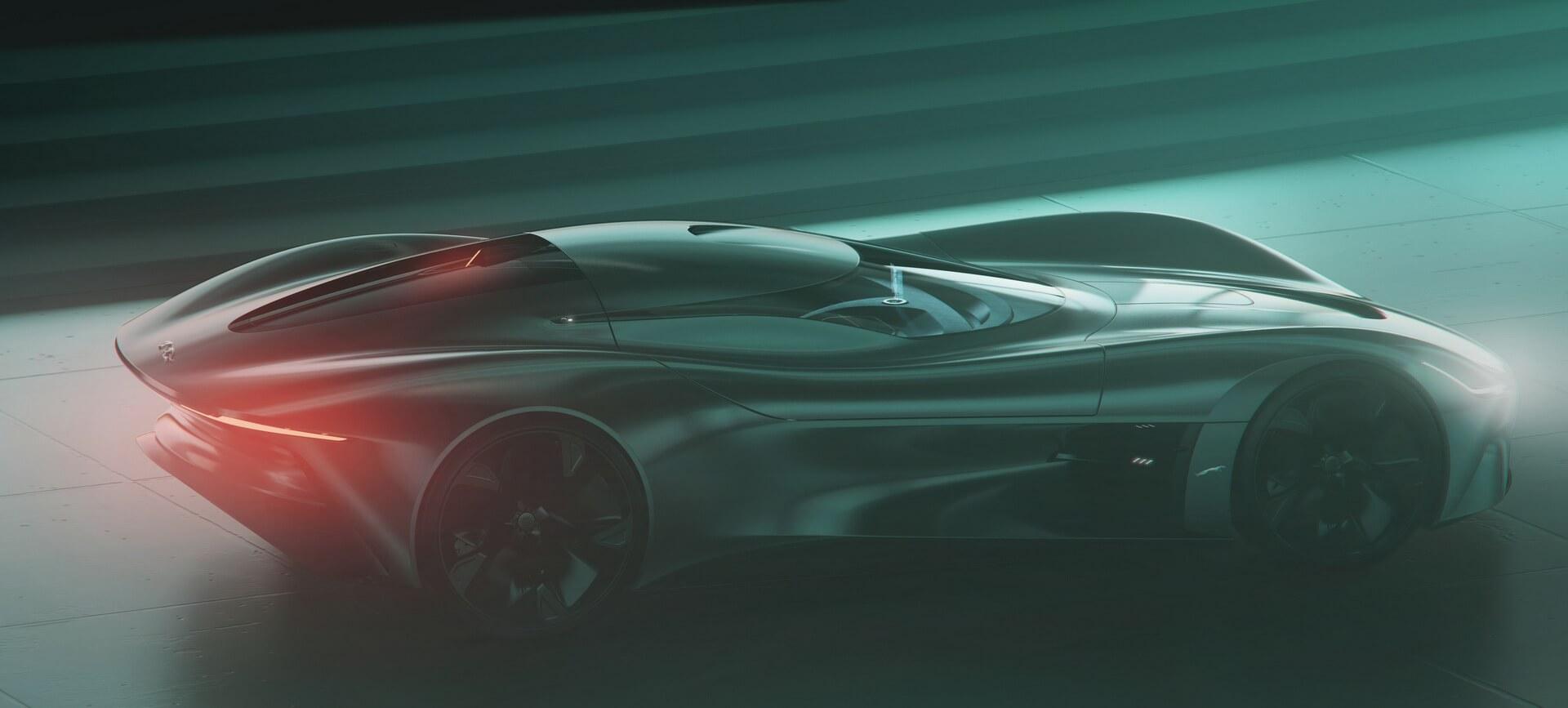 Jaguar представив перший віртуальний повністю електричний спорткар