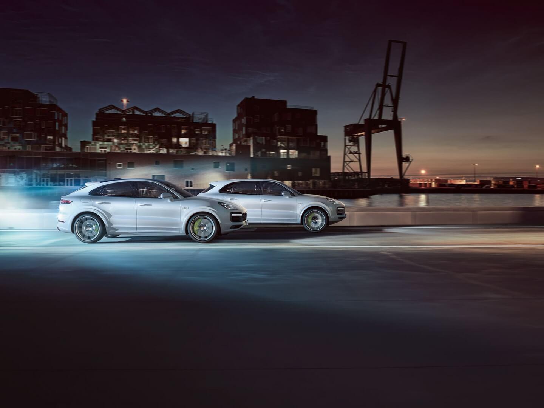 Porsche представляє Cayenne та Cayenne Coupé