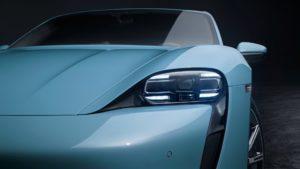 Дизайн Porsche Taycan 4S