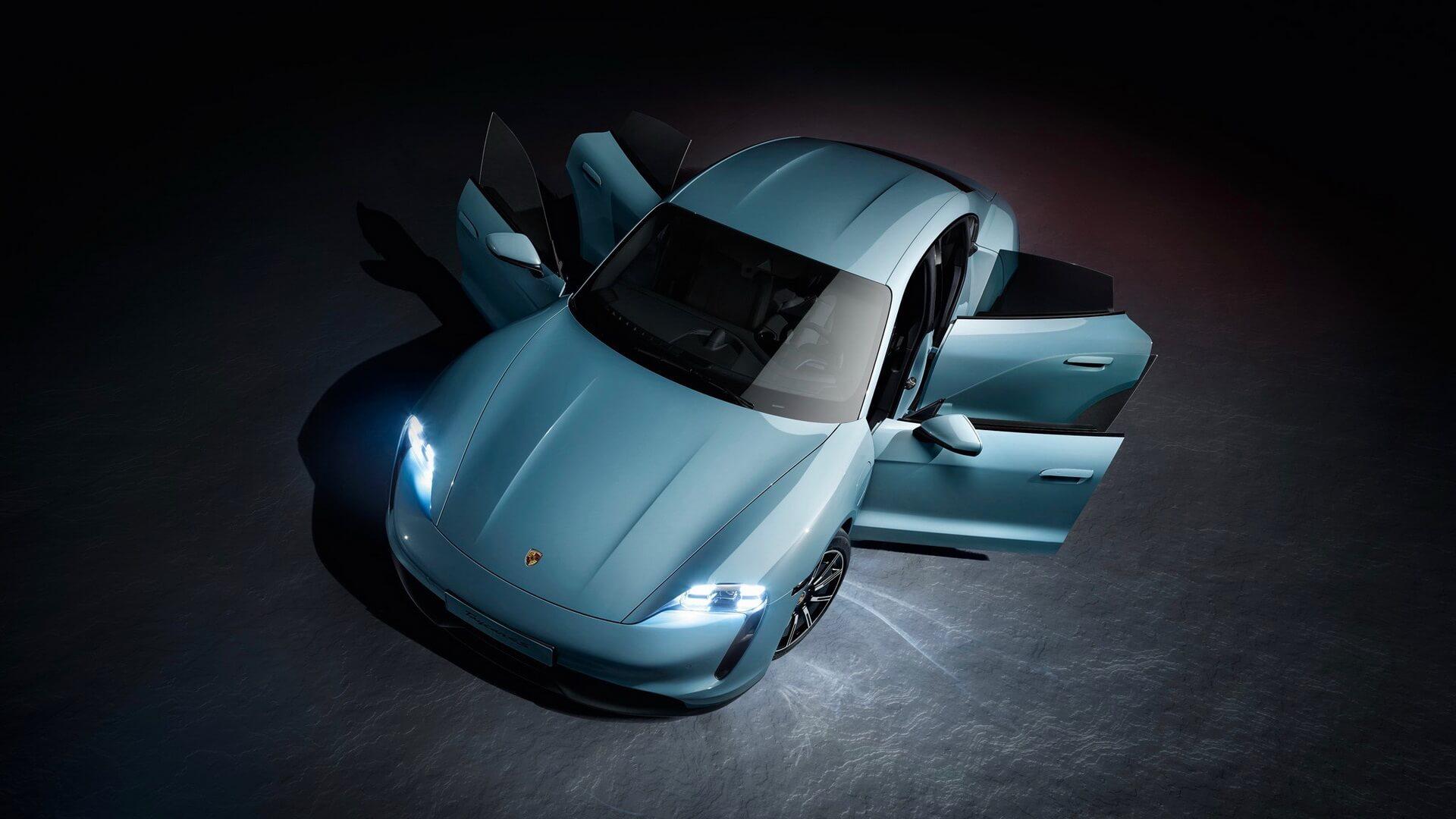 Porsche представила «доступну» версію електрокара Taycan із двома варіантами батарей
