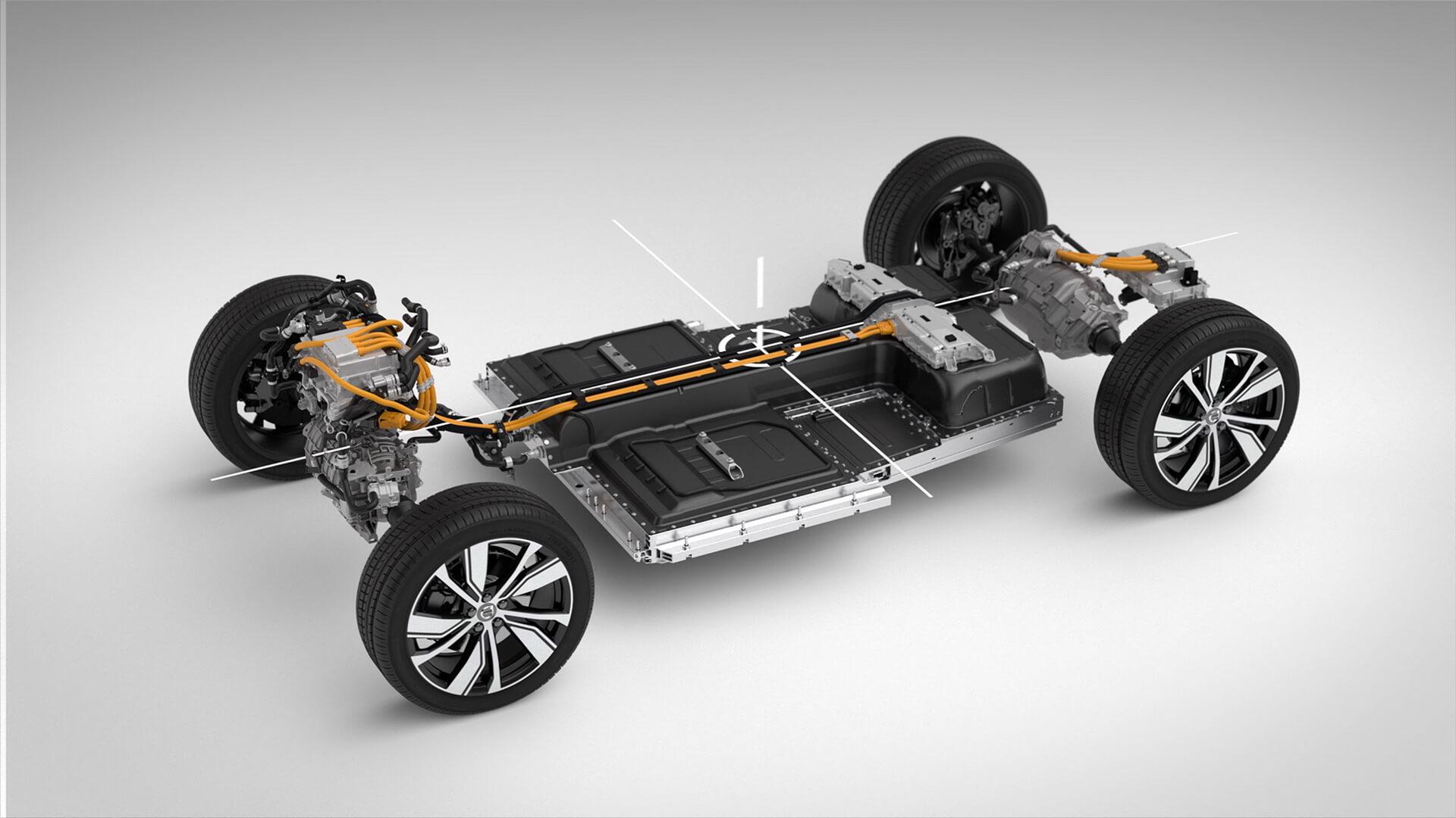 Силова установка електромобіля Volvo XC40 Recharge