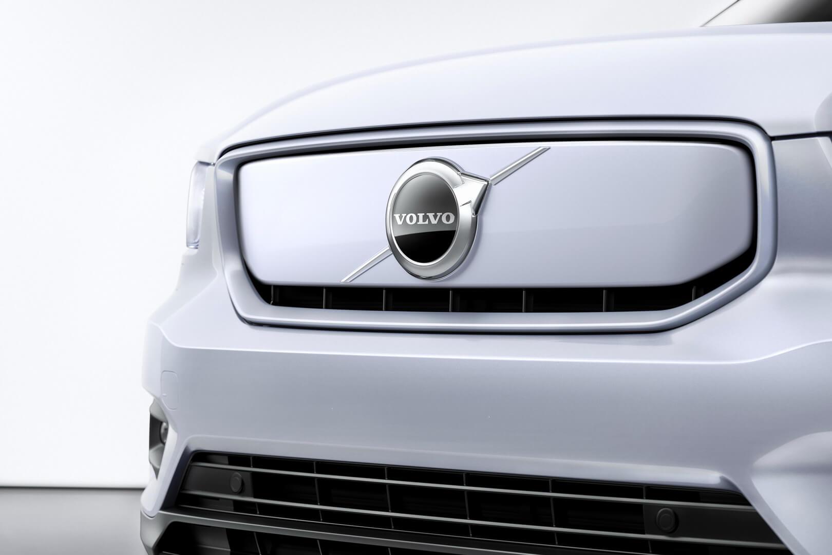 Закрита передня решітка Volvo XC40 Recharge