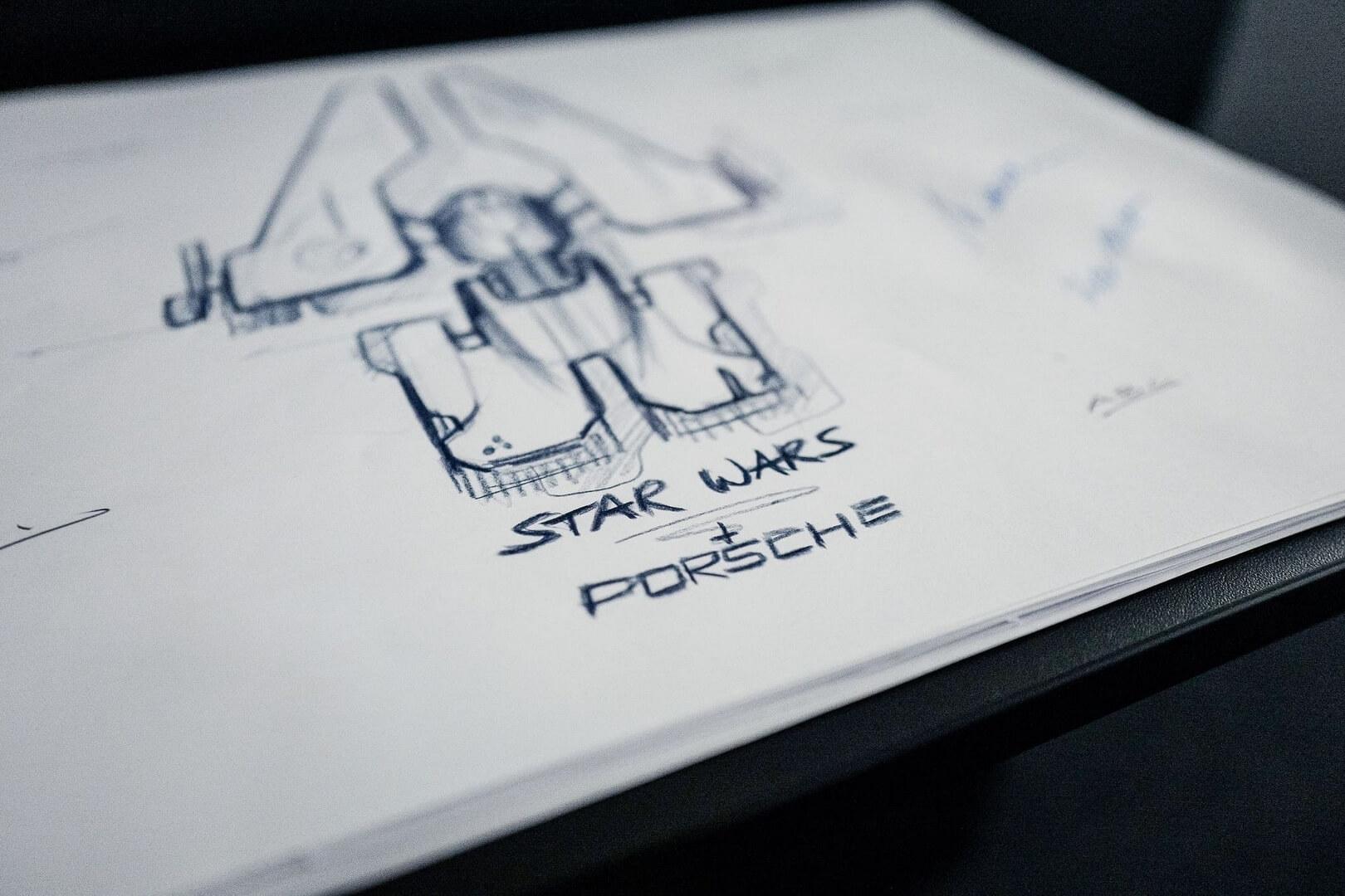 Porsche іLucasfilm разом працюють над дизайном зорельоту