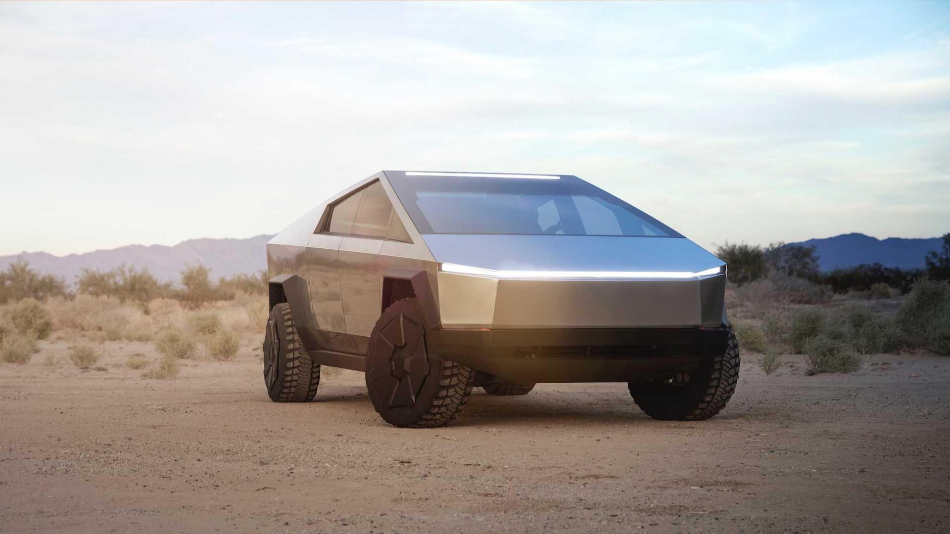 Tesla представила броньований футуристичний пікап