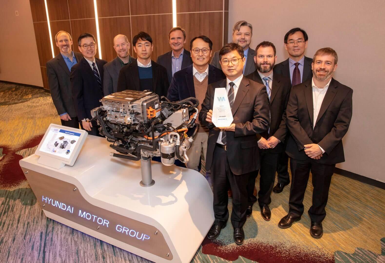 Електричний двигун Hyundai Kona Electric отримав нагороду рейтингу «Wards 10 Best Engines»