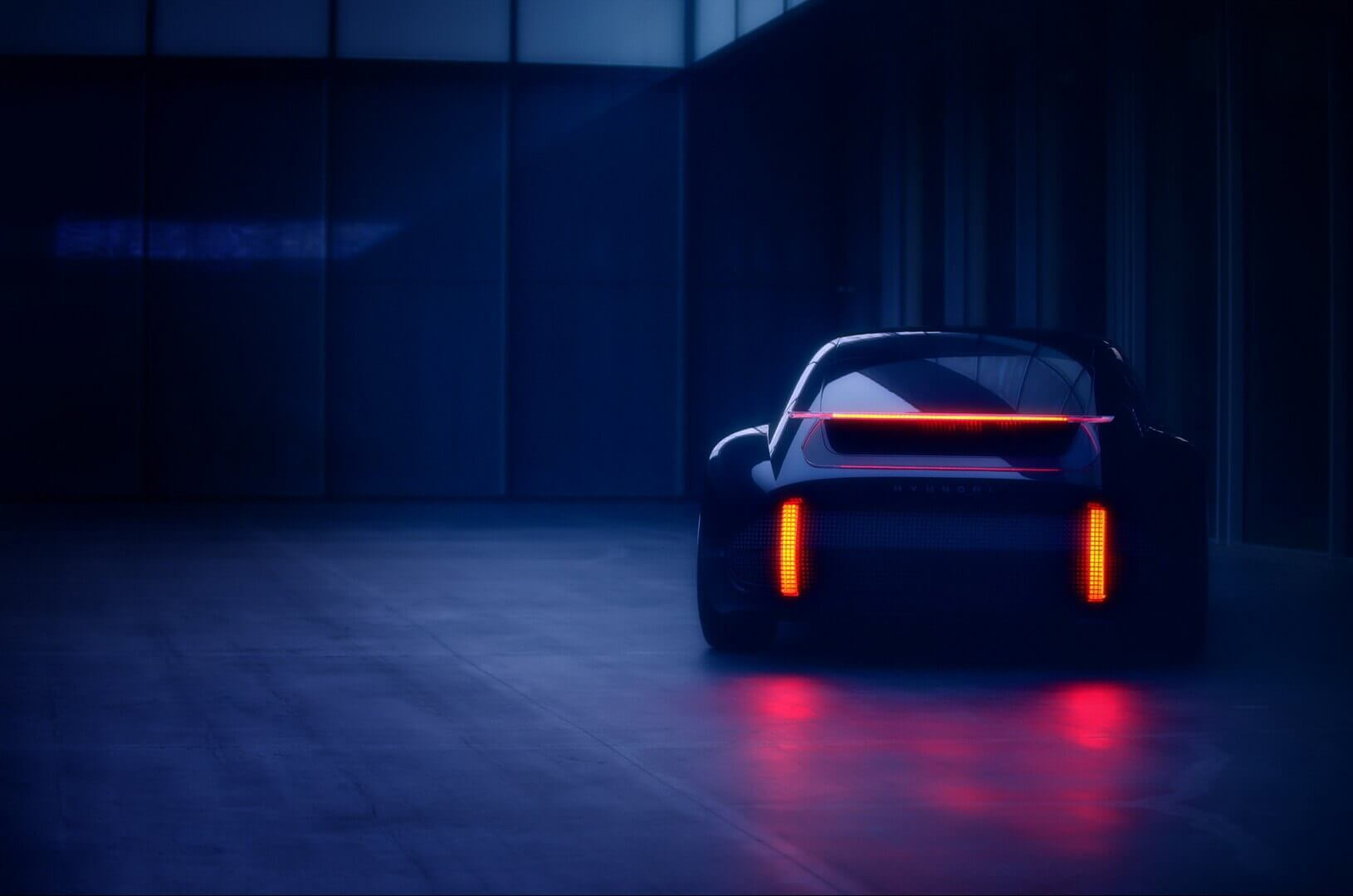 Тизер майбутнього електромобіля Hyundai «Пророцтво»