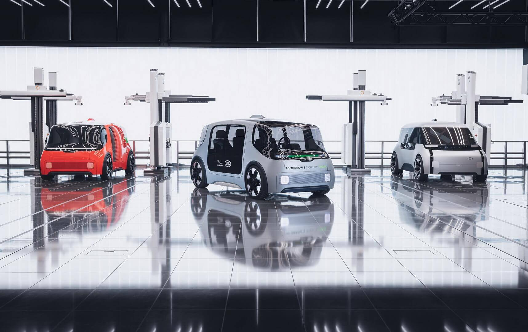 Jaguar Land Rover представив концепцію автономного електромобіля