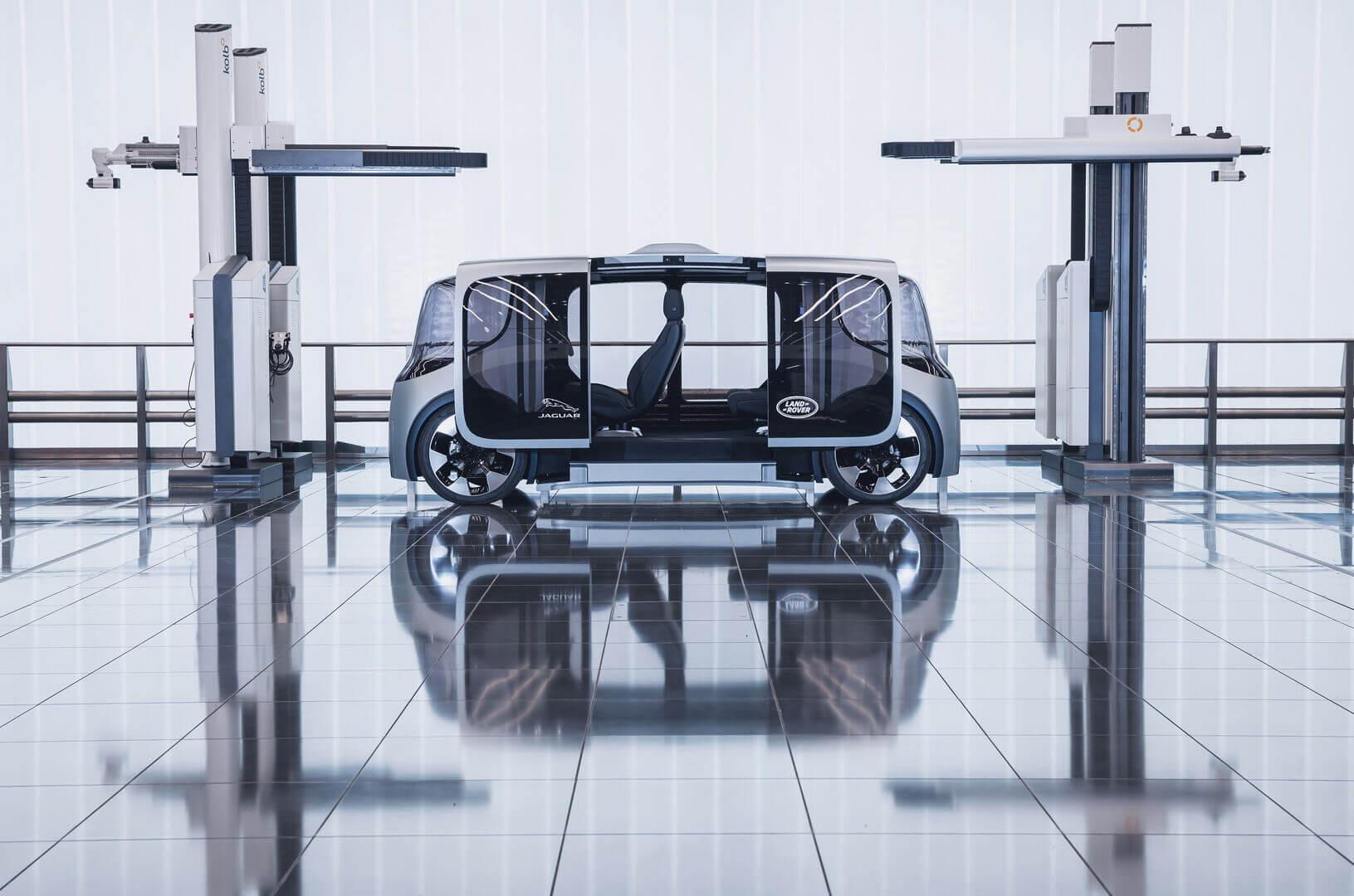 Концепт автономного автомобіля Jaguar Land Rover Project Vector