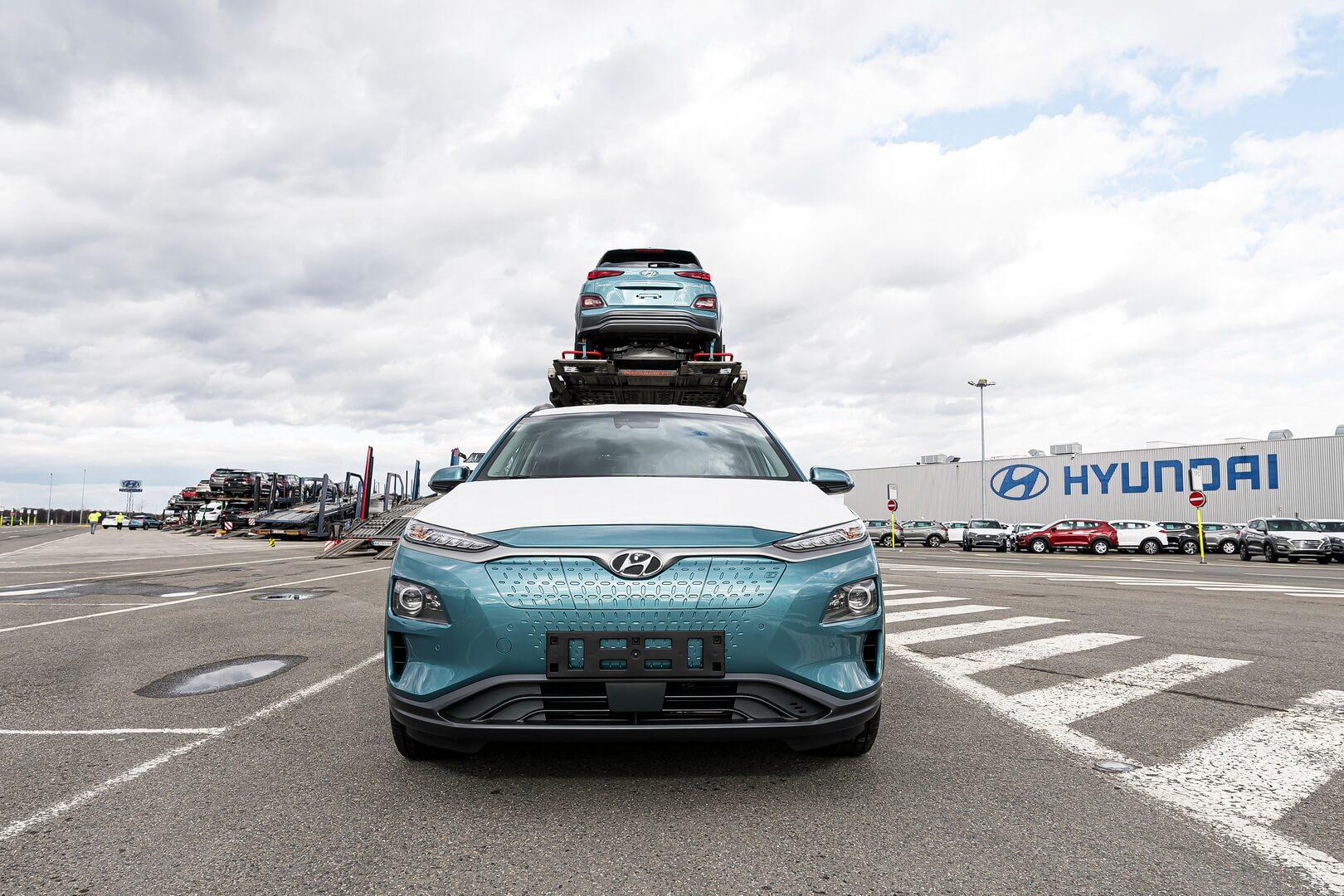 Перша партія Hyundai Kona Electric зібраних в Чехії