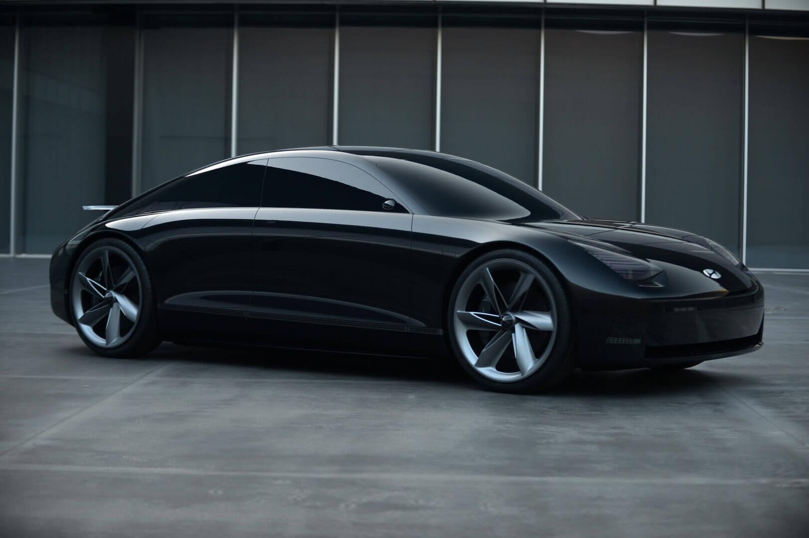 Екстер'єр Hyundai Prophecy: втілення «Чуттєвої спортивності»