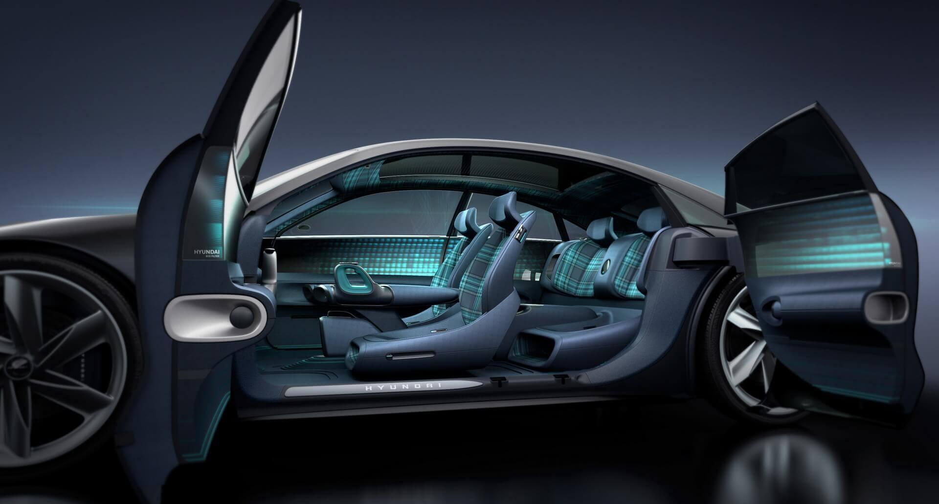 Салон електромобіля Hyundai «Пророцтво»