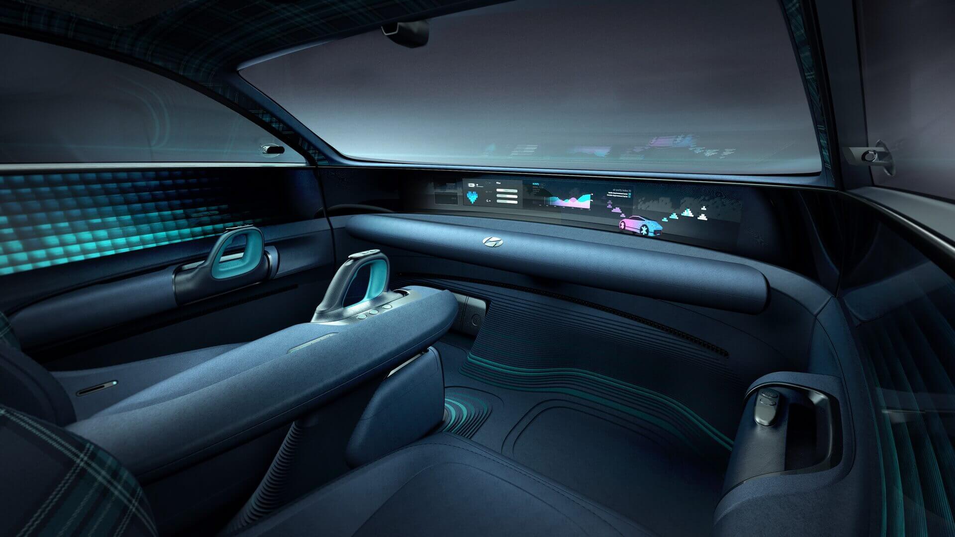 Інтер'єр Hyundai Prophecy: оптимальний комфорт інова філософія управління електромобілем