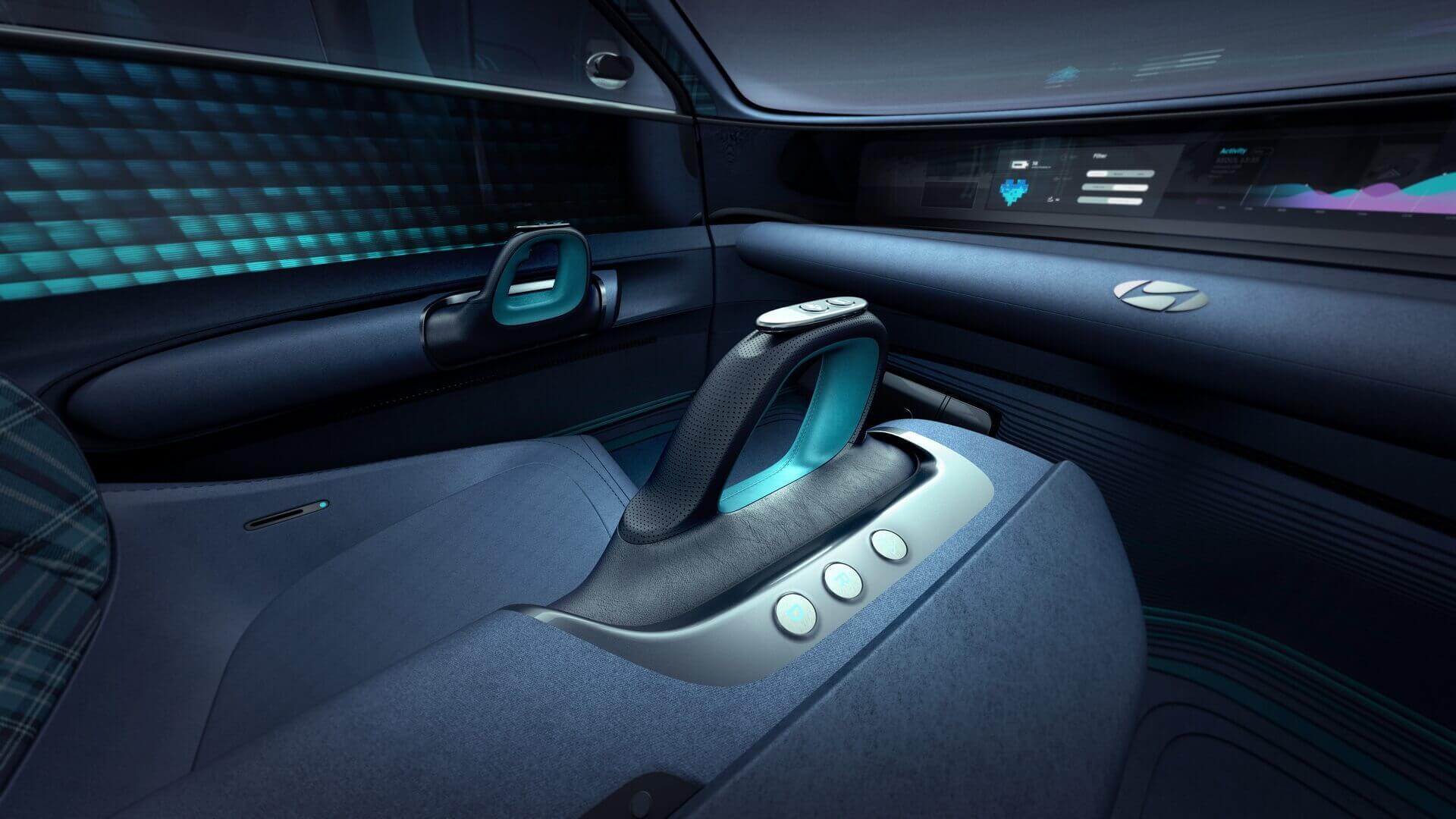 Інтер'єр Hyundai Prophecy