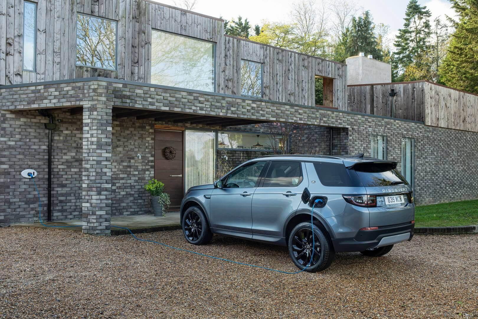 Плагін-гібрид Land Rover Discovery Sport P300e