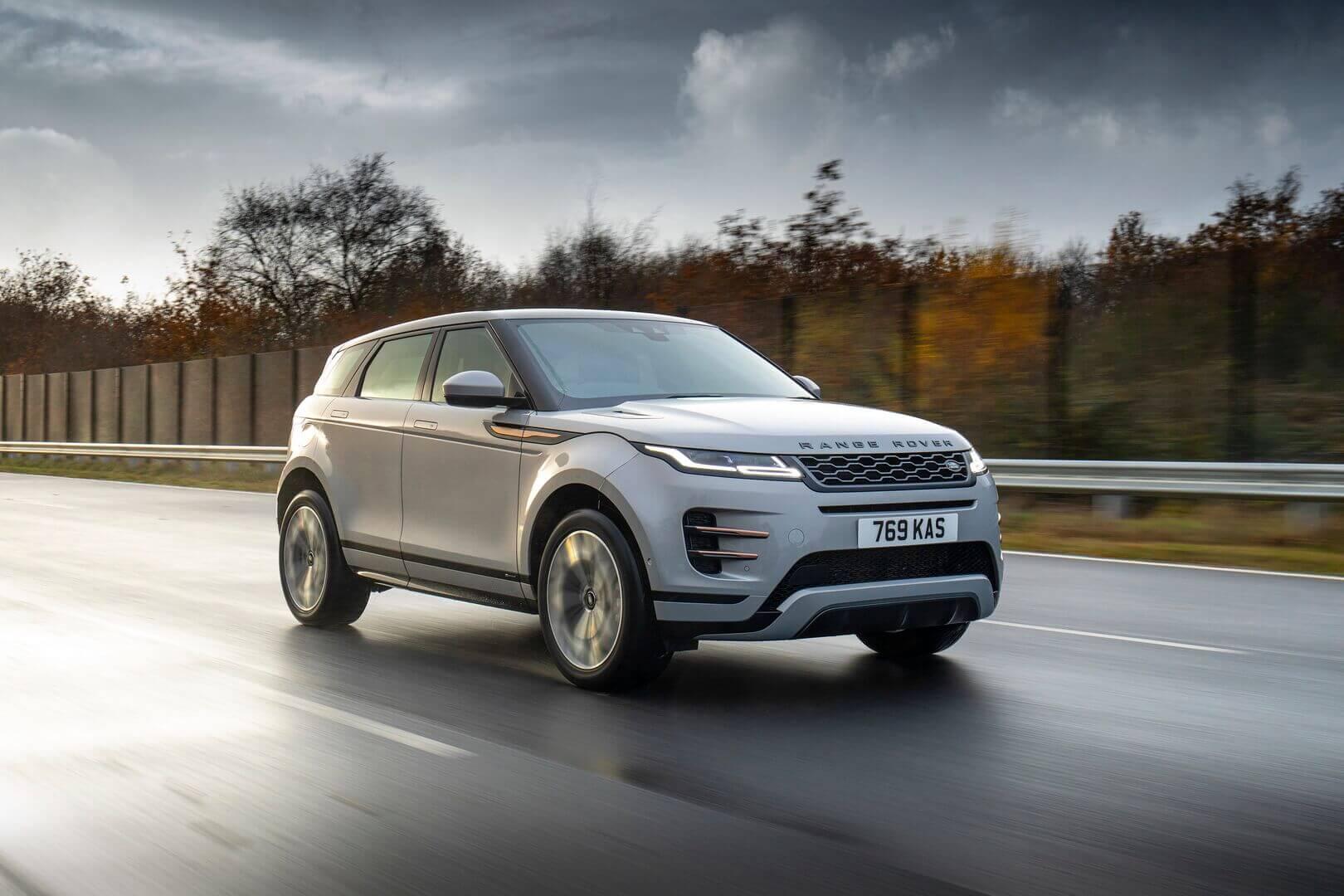 Range Rover Evoque представлено у плагін-гібридній версії з електричним запасом ходу до 66 км