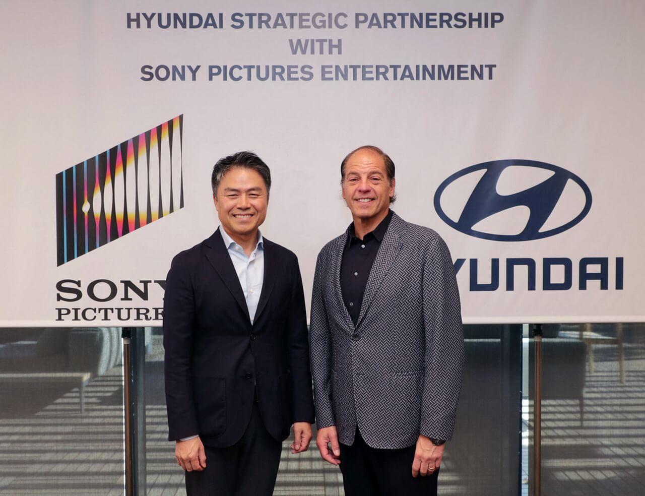 Hyundai Motor і Sony Pictures оголосили про стратегічне партнерство