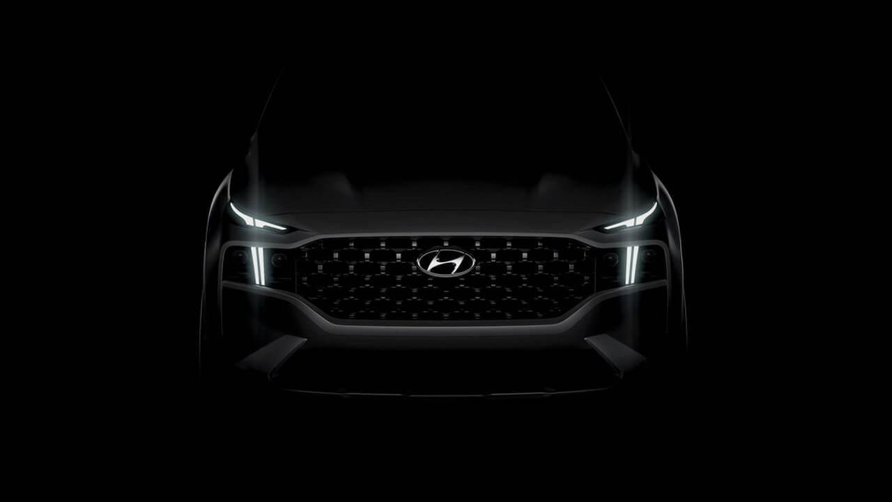 Hyundai демонструє перший тизер оновленого Santa Fe