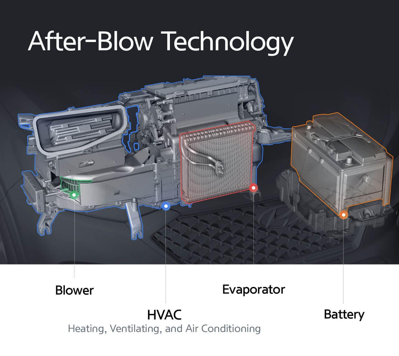 After-Blow зберігає випаровувач сухим та запобігає появі плісняви