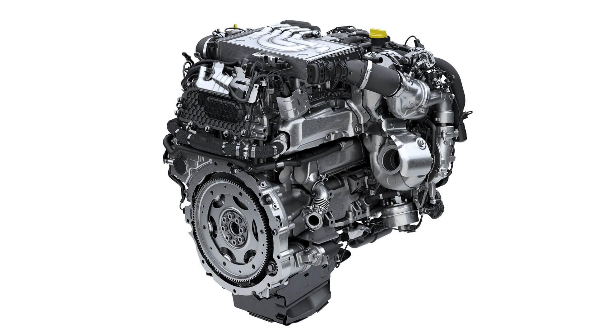 Шестициліндровий дизельний двигун Range Rover Ingenium з технологію м'якого гібрида 48 В