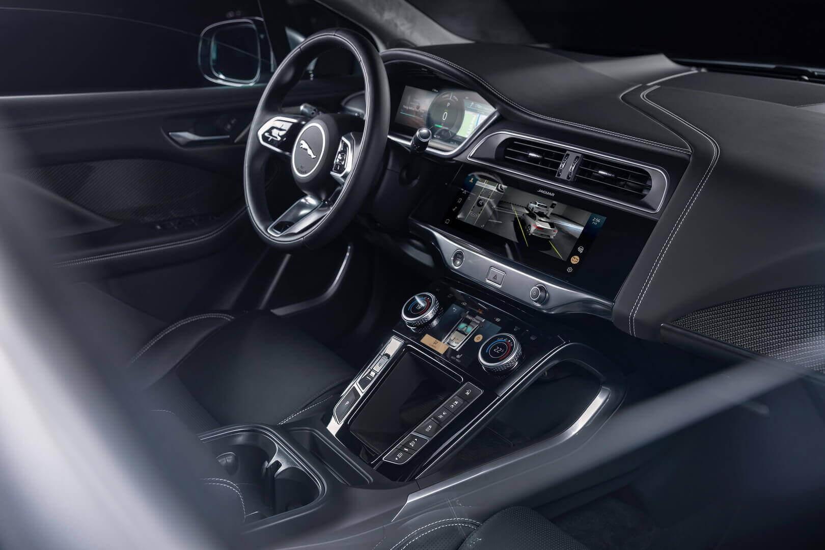 Jaguar I-PACE 2021 отримав нову інформаційно-розважальну систему