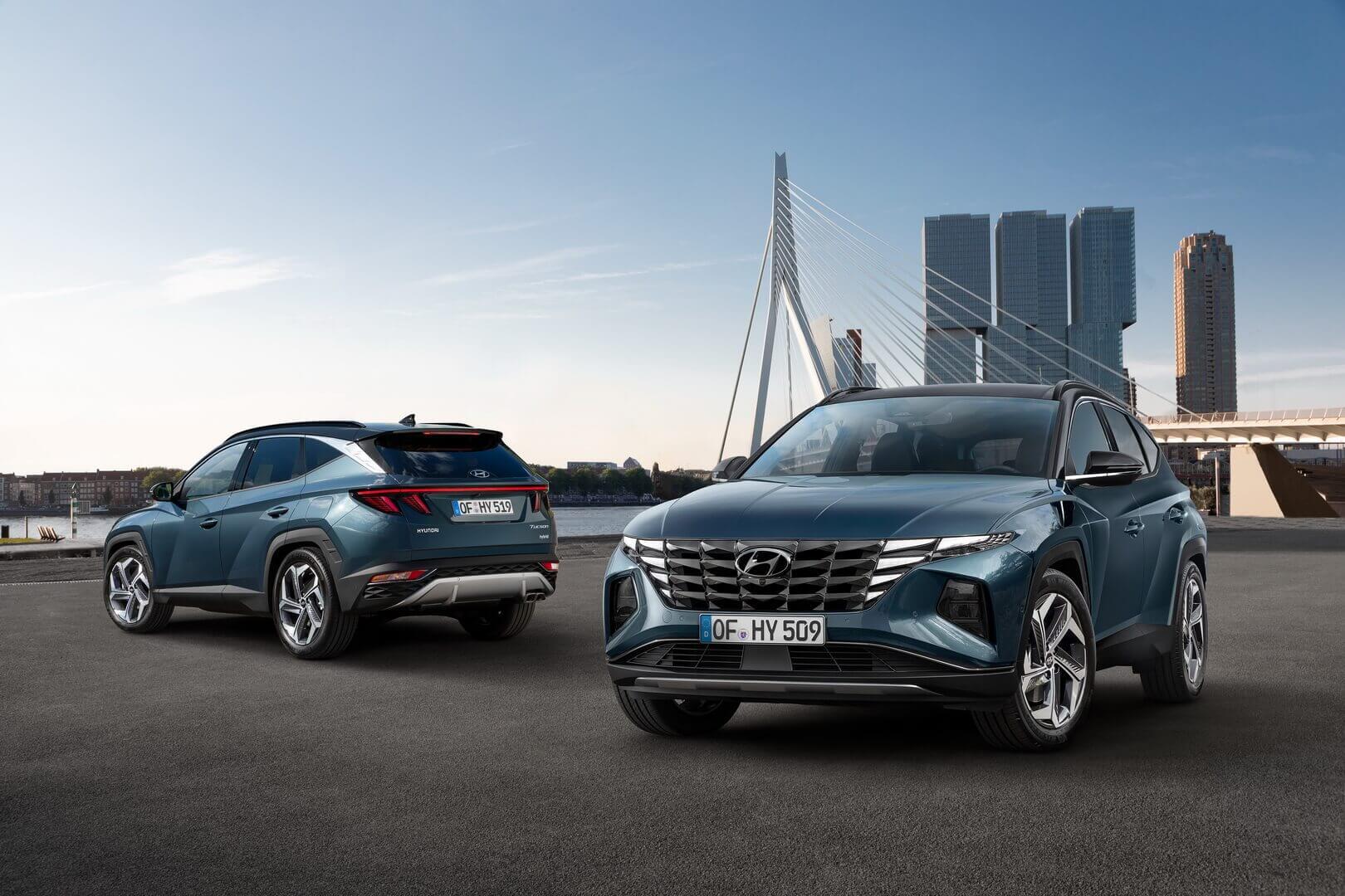 Hyundai Tucson 4-го покоління пропонує саму електрифіковану лінійку силових агрегатів в сегменті компактних позашляховиків