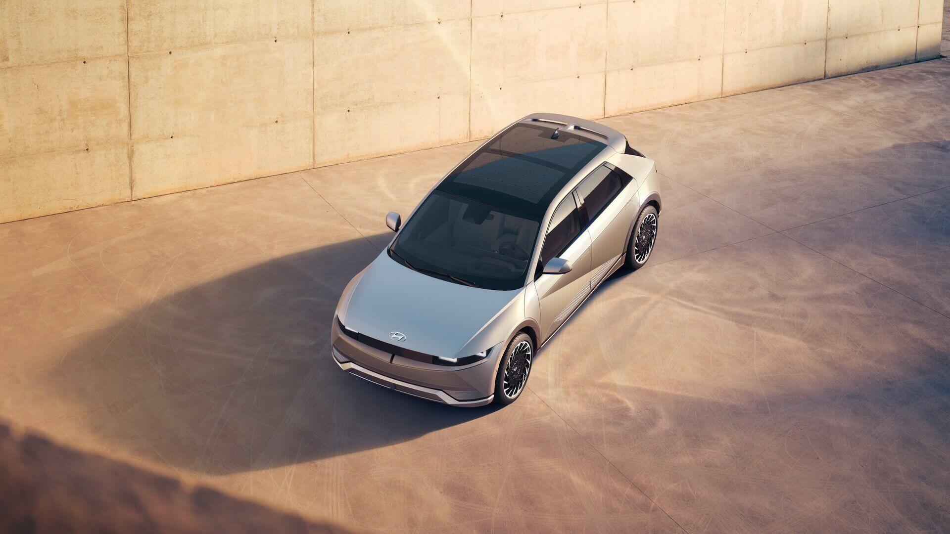 Унікальний зовнішній дизайн Hyundai IONIQ 5