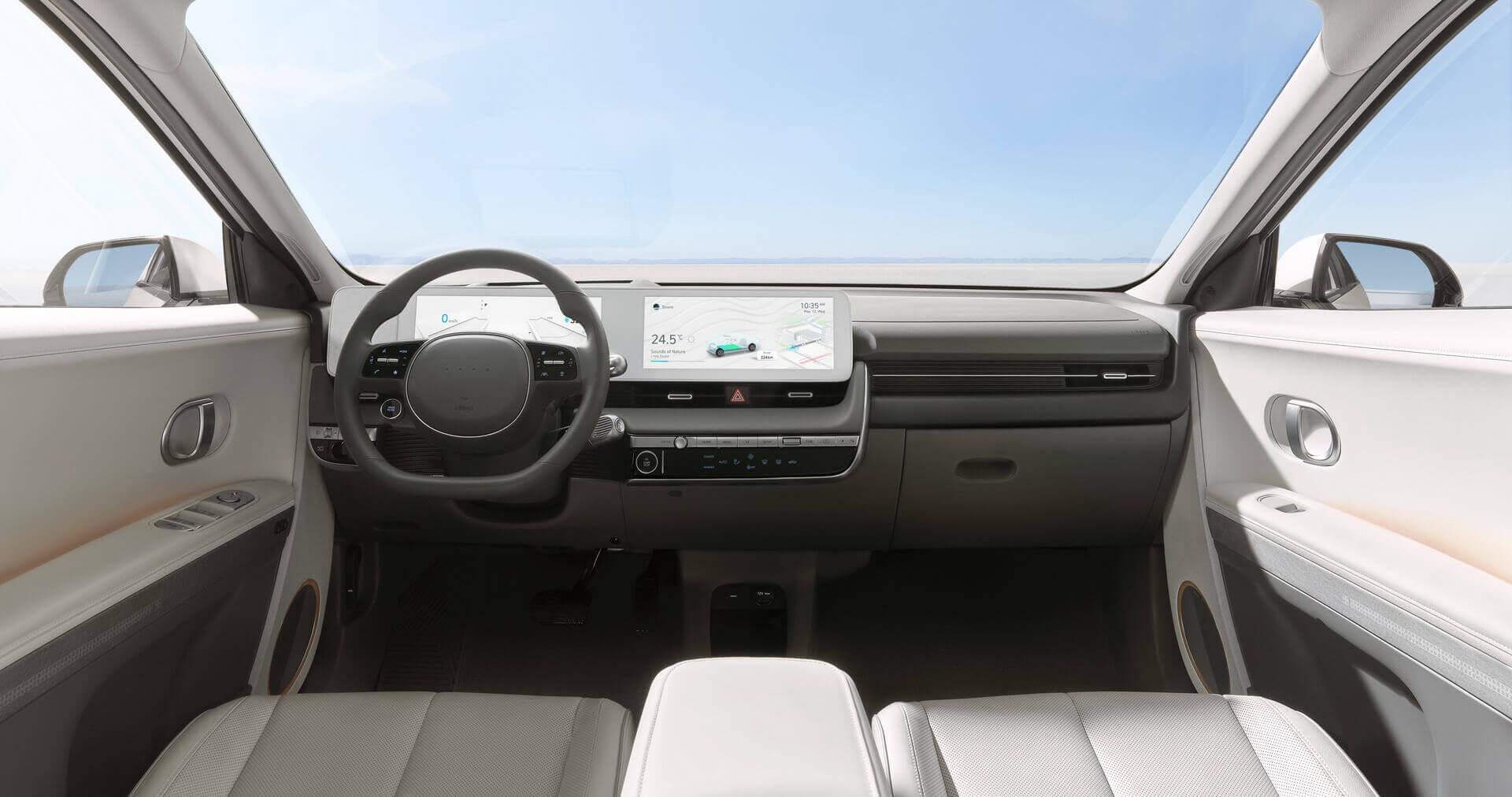 Приладова панель Hyundai IONIQ 5