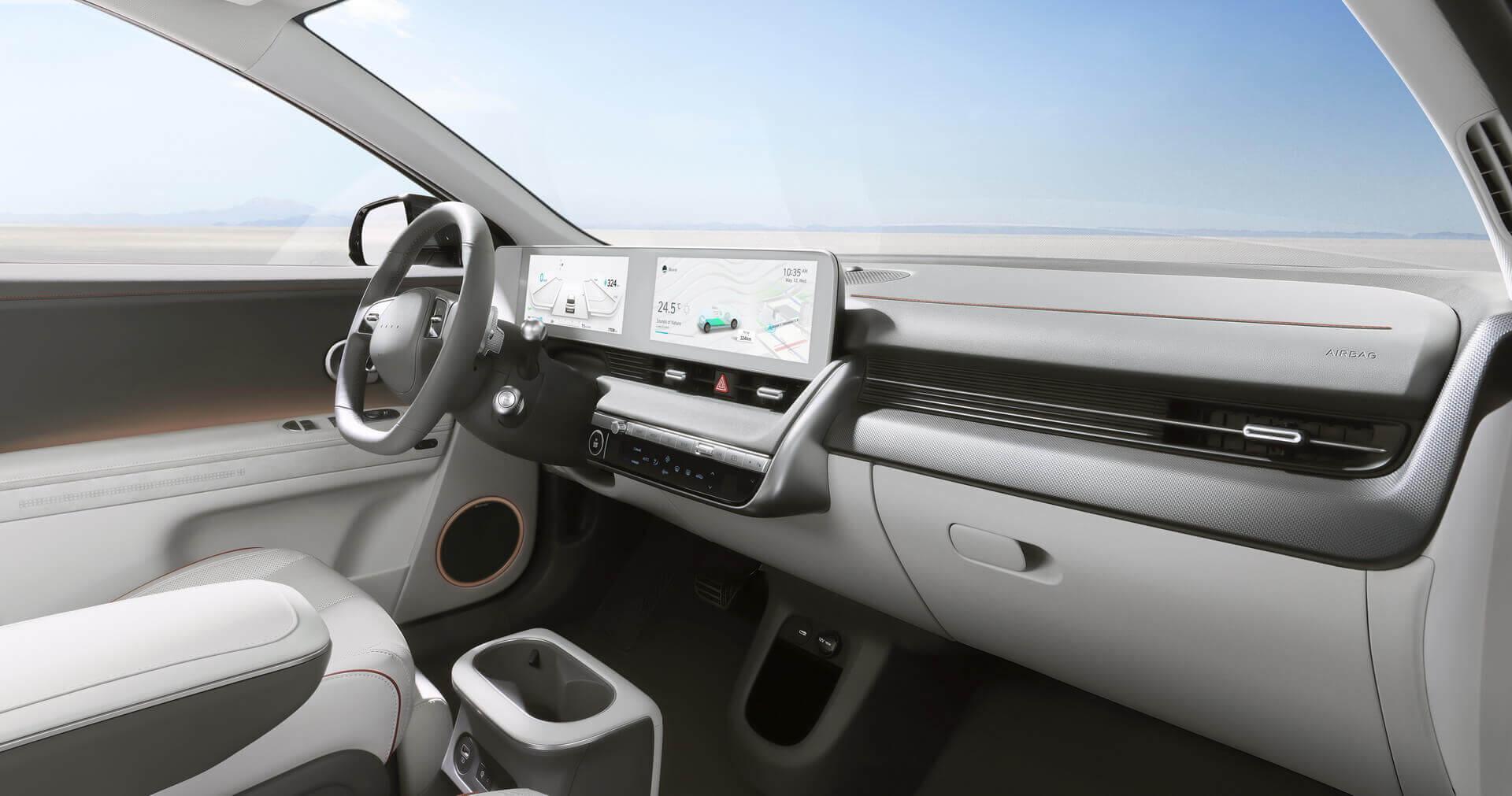 Інтер'єр електрокросовера Hyundai IONIQ 5