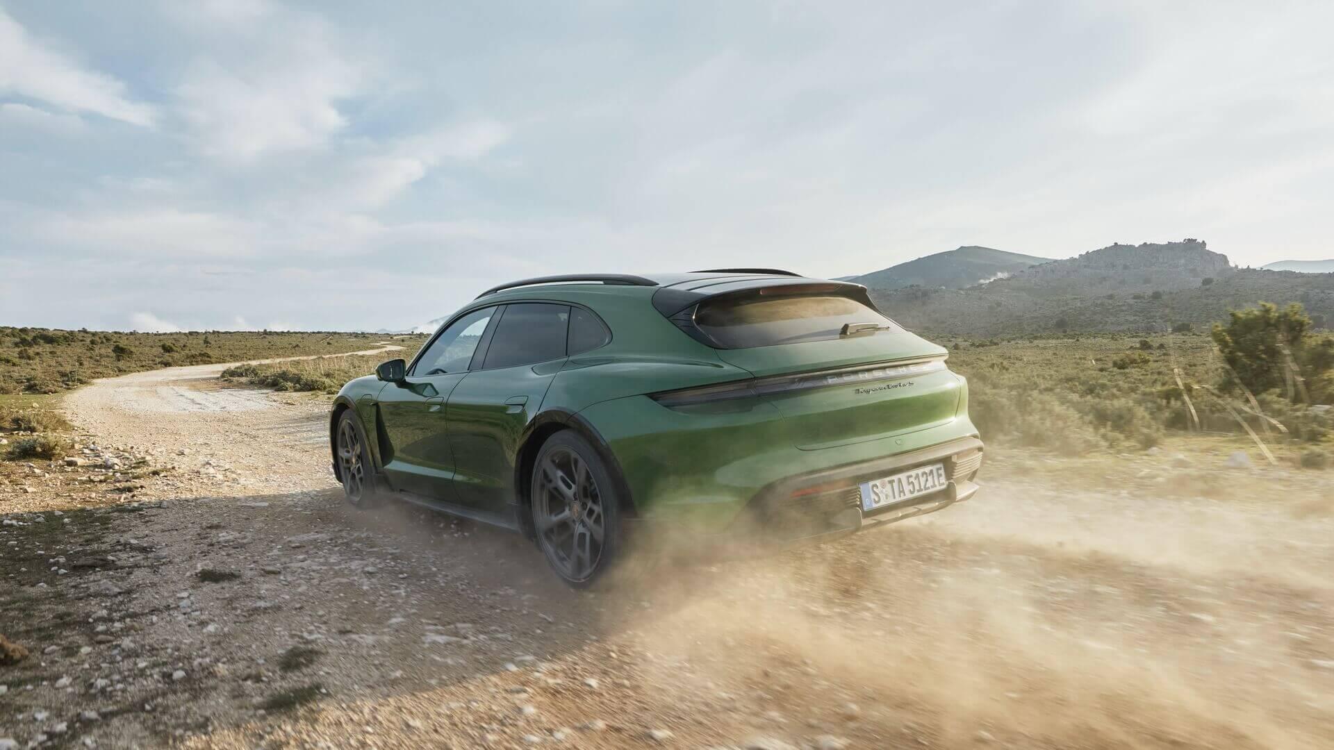 Taycan Cross Turismo - електричний універсал від Porsche