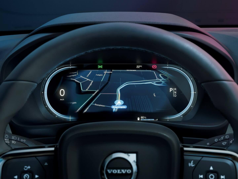 Приладова панель Volvo C40 Recharge