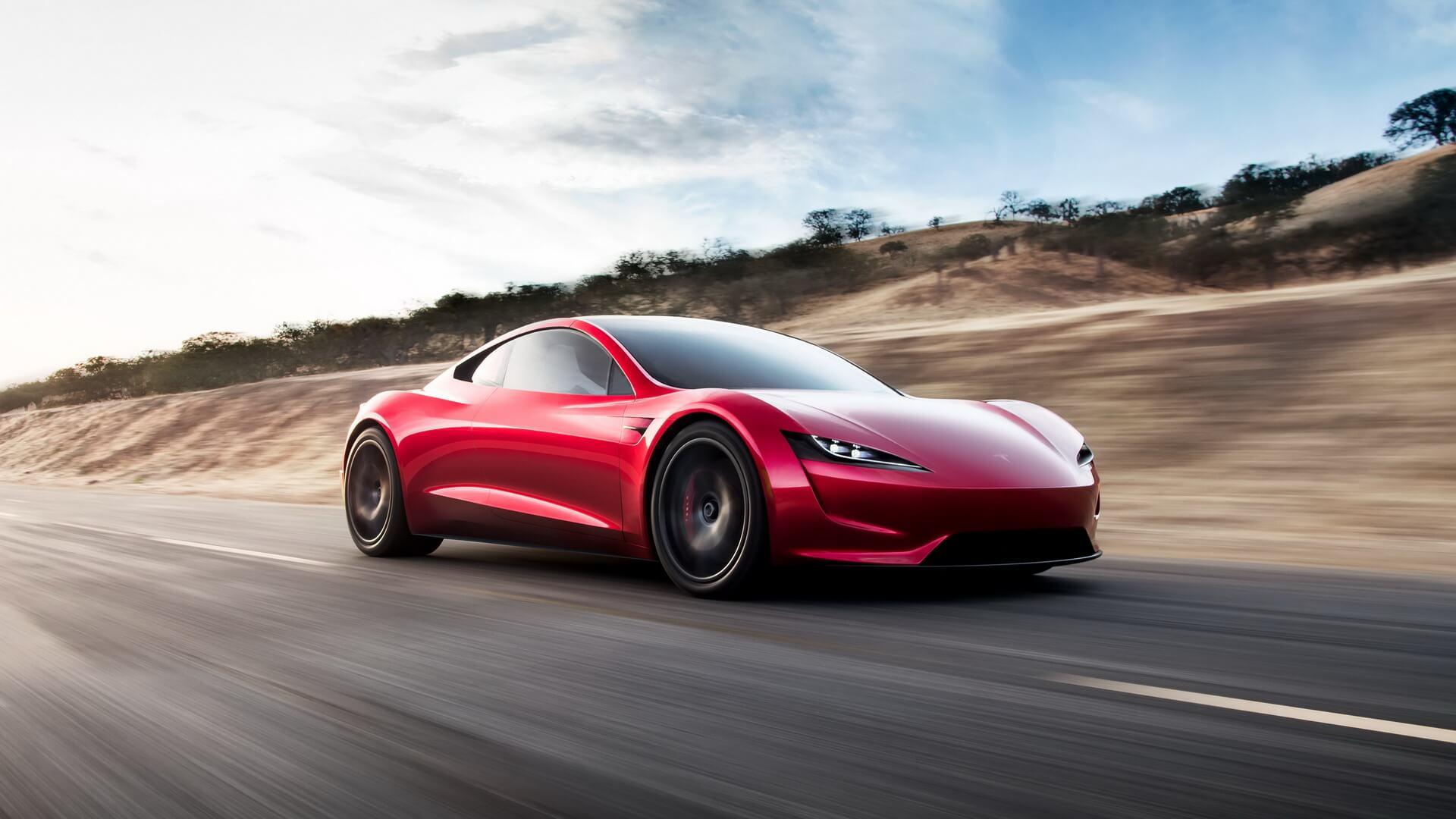 Електрокар Tesla Roaster 2
