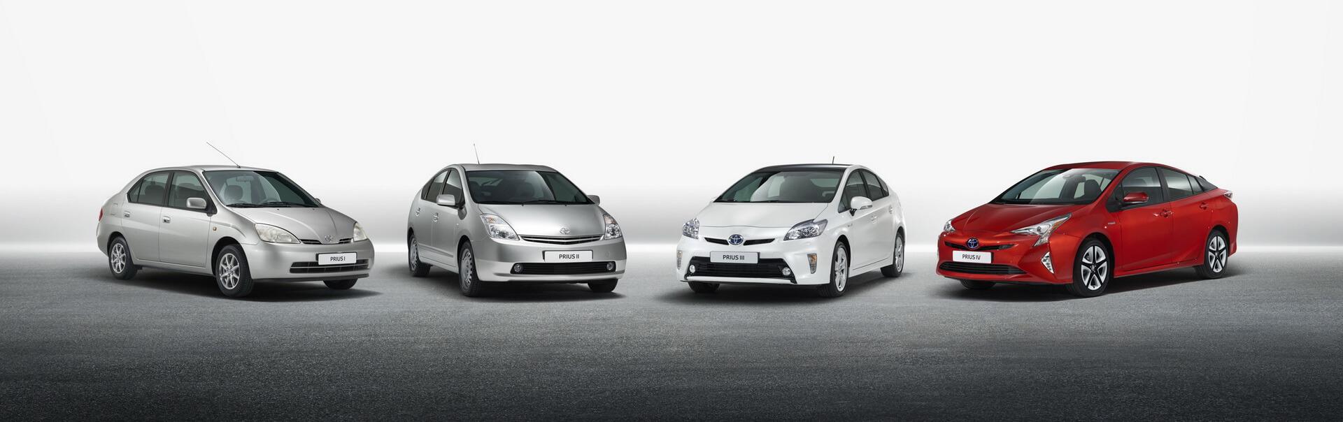 Покоління гібридного автомобіля Toyota Prius