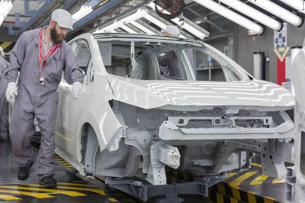 Виробництво Nissan Leaf 2018 — фото 4