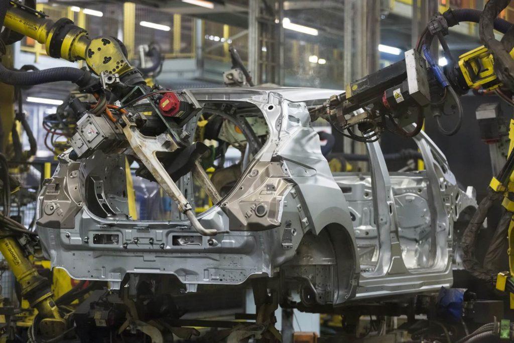 Виробництво Nissan Leaf 2018